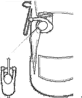 Dutch Reach 'stencil' reduction of Cambridge Street Code p. 9 diagram, black lines on white.