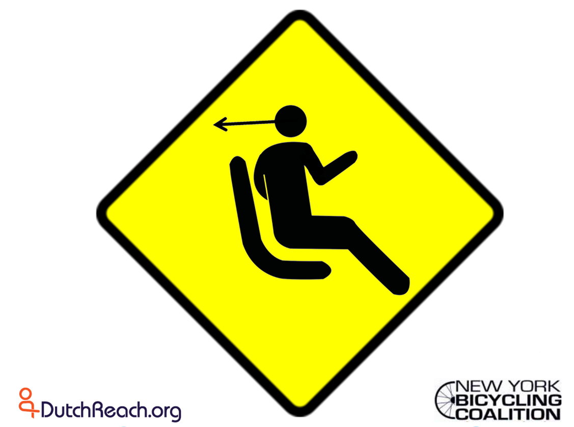 Caution Reach Man on yellow
