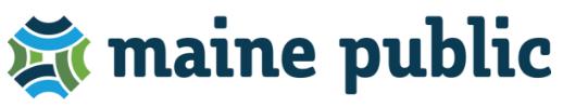 Maine Public radio logo
