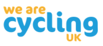We Are Cycling UK promotes the Dutch Reach anti dooring technique in Great Britain UK as part of its bicycling and road safety campaign work.