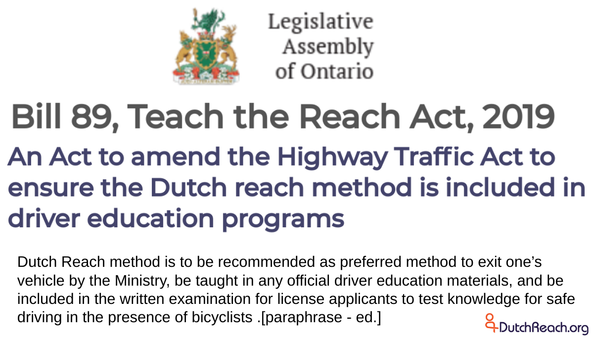 State Actions: Driver's Manual, Advisory, License Test
