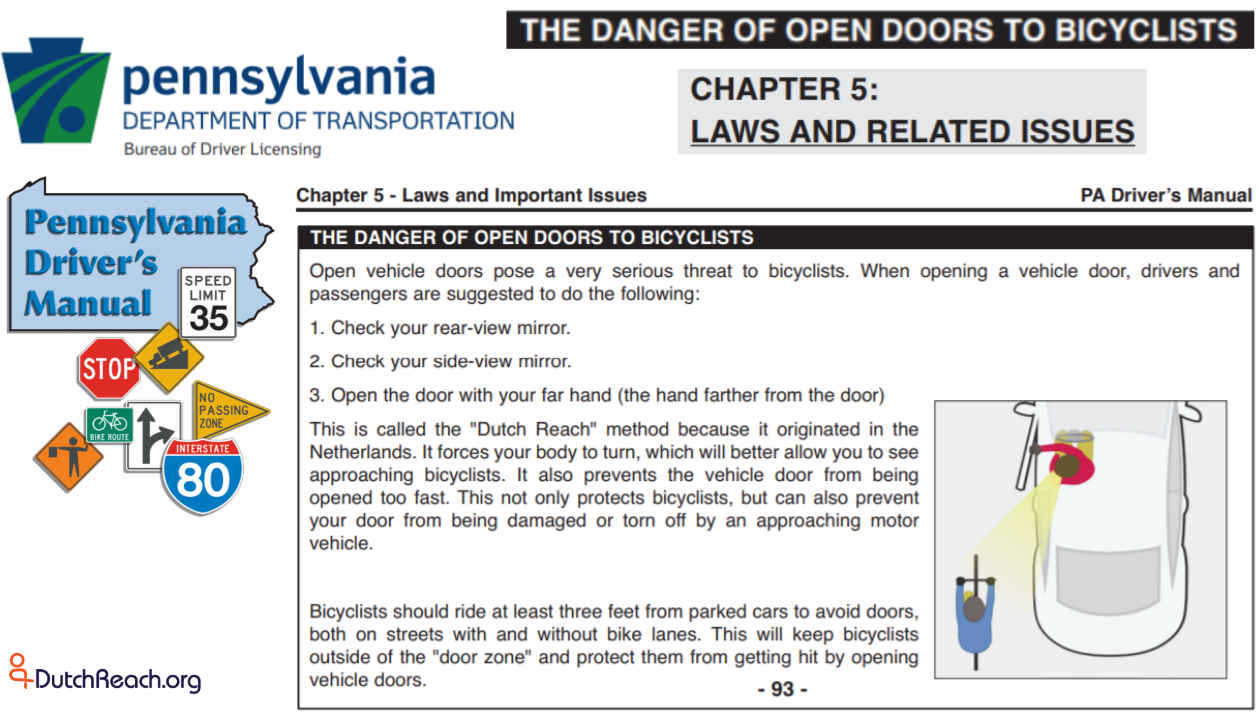 drivers license test booklet pennsylvania