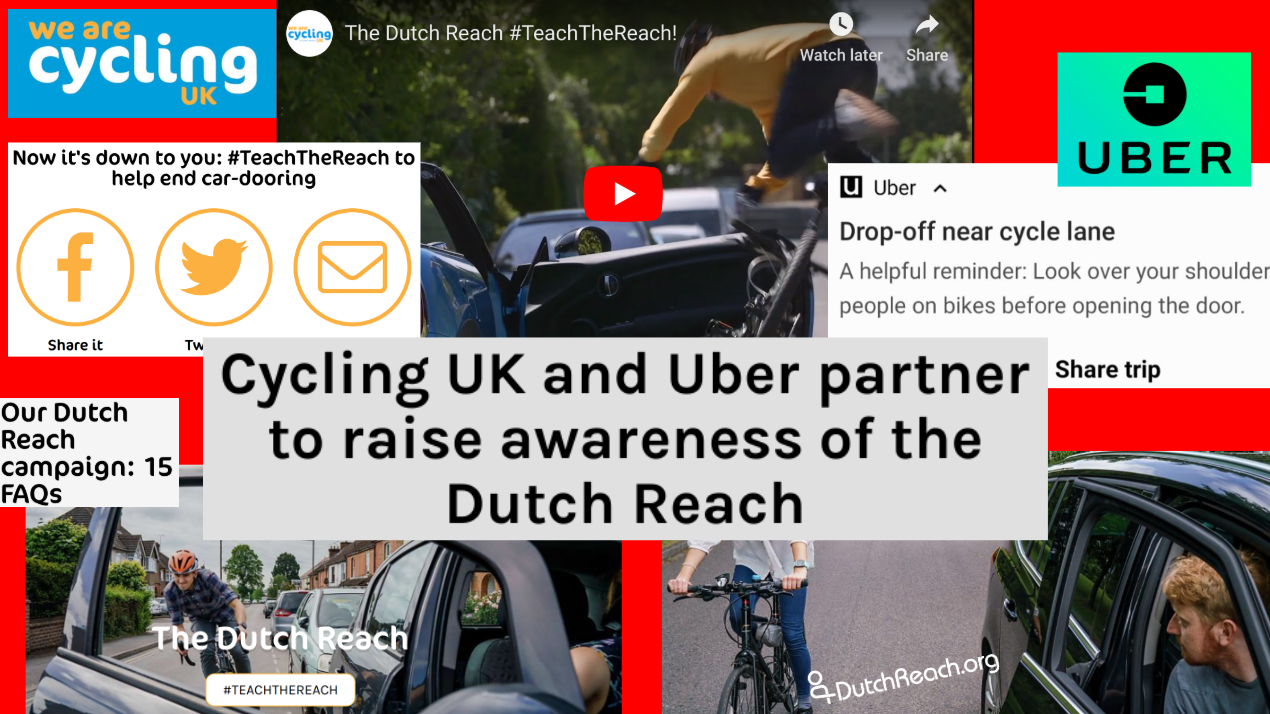 Cycling & Road Safety Organizations – Dutch Reach Project
